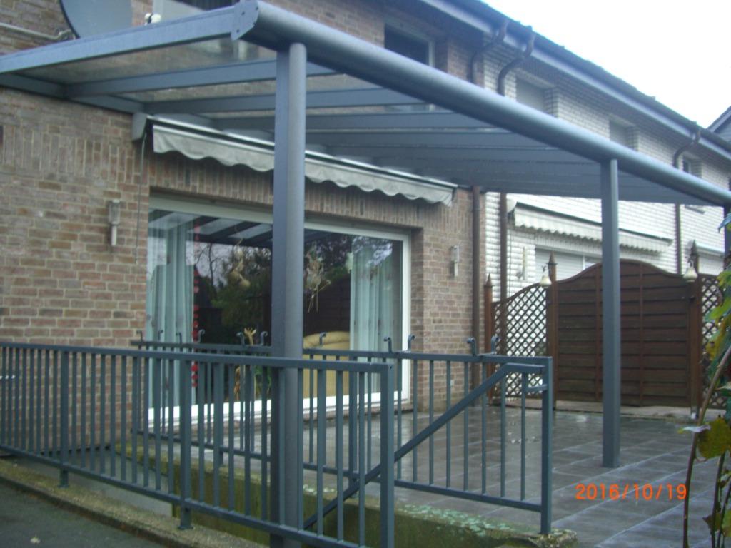 Terrassenüberdachung Wintergarten Markisen Glasdach Überdachung