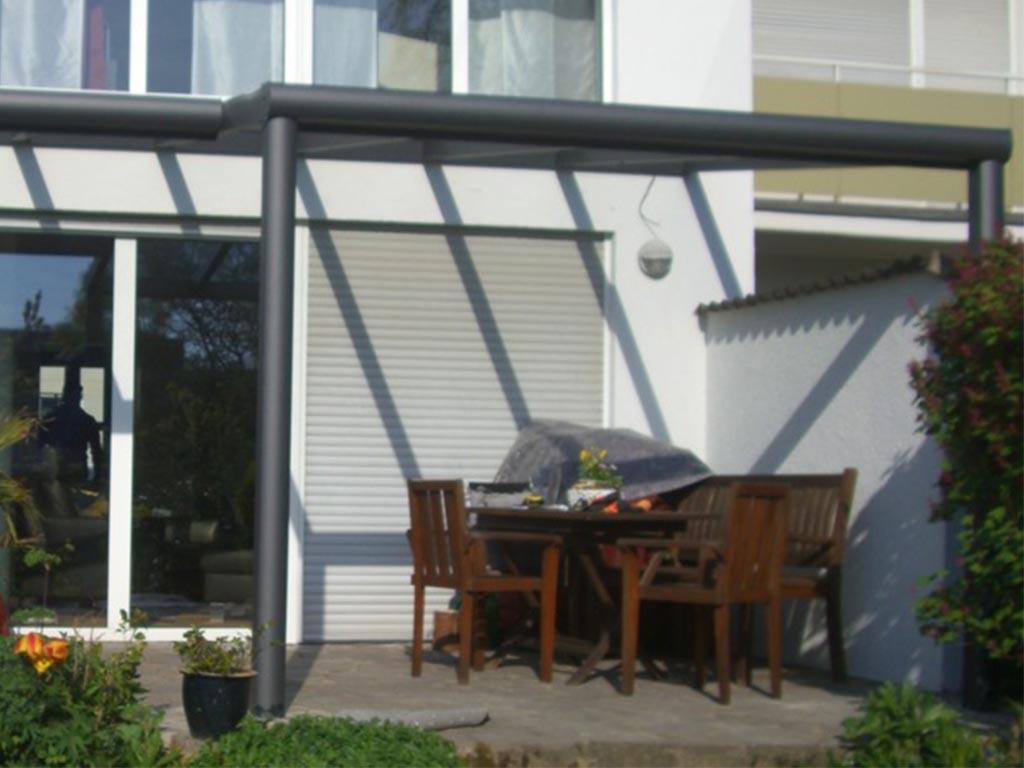 Terrassenüberdachung Wintergarten Markisen Terrassendach Alu