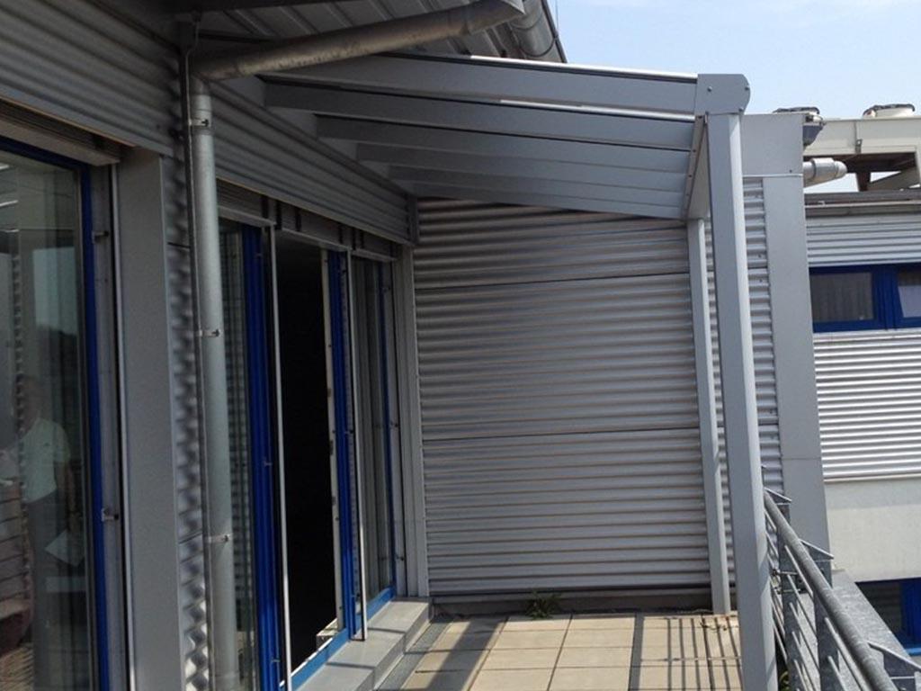 Terrassendach Bausatz Terrassenüberdachung Wintergarten Markise Terrassenüberdachung Holz Glas